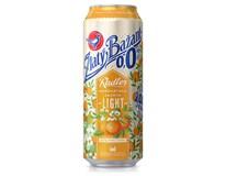 Zlatý Bažant 0,0% nealkohol. pivo radler light mandarínka,jazmín 6x500 ml PLECH