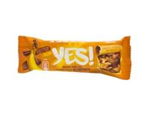Yes! Tyčinka s pekanovými orechmi a horkou čokoládou 1x35 g