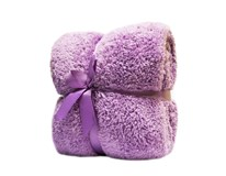 Deka Fluffy fialová 200x220 cm Tarrington House 1 ks