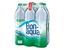 Bonaqua pramenitá voda jemne sýtená  6x1,5 l PET