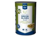 Metro Chef Olivy zelené krájané 1x4100 g