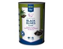 Metro Chef Olivy čierne krájané 1x4100 g