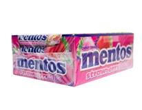Mentos Cukríky strawberry mix 40x37,5 g