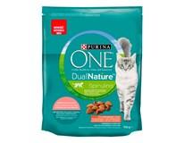 Purina One Dual Nature Sterilcat granule s lososom a spirulinou 1x750 g