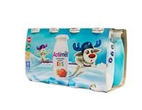 Danone Actimel Kids jahoda a banán chlad. 8x100 g