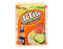 Bonavita Active celozrnné chlebíčky pšeničné 6x90 g