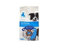 The Pet+ Active Treat pre psa 1x100 g