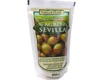 Agro Sevilla Olivy zelené s papričkou 6x200 g