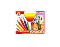Pastelky trojhranné triocolor KOH-I-NOOR 24ks