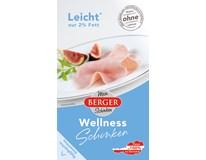 Berger Wellness Šunka plátky chlad. 1x100 g