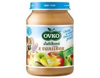 Novofruct Ovko Detská výživa jablko a vanilka 6x190 g