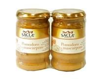 Salca omáčka paradajkova a mascarpone 2x190 g