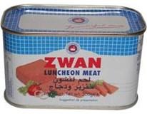 Zwan Bravčový luncheon meat 3x200 g