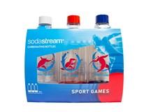 Fľaša Sport Games Sodastream 1 l 3 ks
