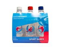 Fľaša Fuse Sport Games Sodastream 1 l 3ks