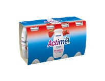 Danone Actimel nápoj jahoda chlad. 8x100 ml