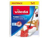 Mop Turbo Refill 2v1 náhradná hlavica Vileda 2ks