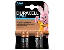 Batérie Ultra AAA Duracell 4ks