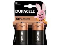 Batérie Basic D Duracell 2ks