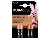 Batérie Basic AAA Duracell 4ks
