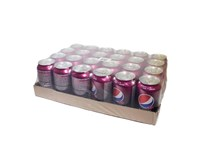Pepsi Wild cherry 24x330 ml PLECH
