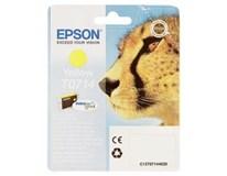 Cartridge T0714 yellow Epson 1ks