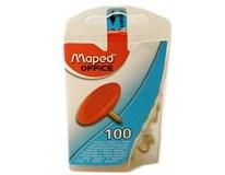 Pripináčiky farebné Maped 100ks