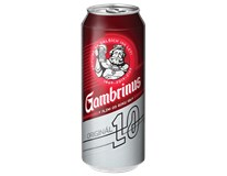 Gambrinus pivo 10% 6x500 ml PLECH