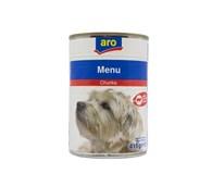 ARO Hovädzie kúsky pre psa 1x415 g