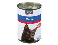 ARO Hovädzie kúsky pre mačku 1x415 g