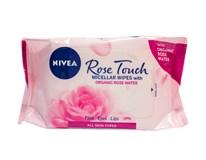 Nivea Rose Touch micelárne obrúsky 1x1 ks