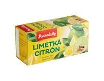 BOP Limetka a citrón ovocný čaj 3x40 g