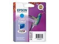Cartridge T0802 cyan Epson 1ks