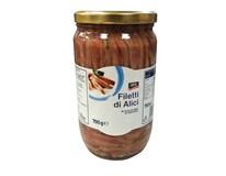 ARO Ančovičky v slnečnicovom oleji filety 1x720 g