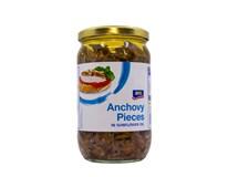 ARO Ančovičky v slnečnicovom oleji kúsky 1x720 g