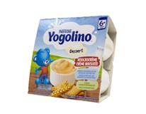 Nestlé Yogolino dezert s príchuťou sušienky 4x100 g