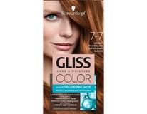 Schwarzkopf Gliss Color farba na vlasy 7-7 medená tmavoplavá 1x1 ks