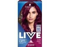 Schwarzkopf Live Colour L76 Ultra fialová farba na vlasy 1x1ks