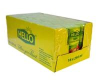 Hello jablko a mrkva 100% džús 18x250 ml tetrapack