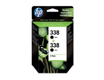 Cartridge N338 black 2-pack HP 1ks