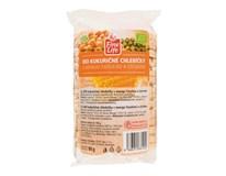Fine Life Chlebíčky kukuričné s mungo fazuľami, cícerom a soľou BIO 1x90 g