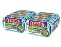 Isabel sardinky v rastlinnom oleji 10x125 g