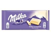 Milka White/biela tabuľková čokoláda 10x100 g