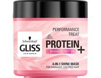 Schwarzkopf Gliss Protein+Babassu nut oil maska na vlasy 1x400 ml