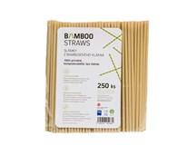 Slamky bambusové 6x230 mm Bamboo 250ks