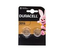 Batérie Lithium 2016 Duracell 2ks