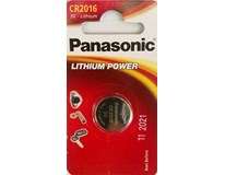 Batérie Lithium power CR2016 Panasonic 1ks