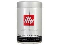Illy Espresso Caffé dark káva mletá 1x250 g dóza