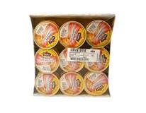 Hamé pasta z údeného mäsa 18x75 g