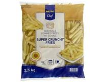 Metro Chef Super chrumkavé hranolky 11x11 mm mraz. 1x2,5 kg